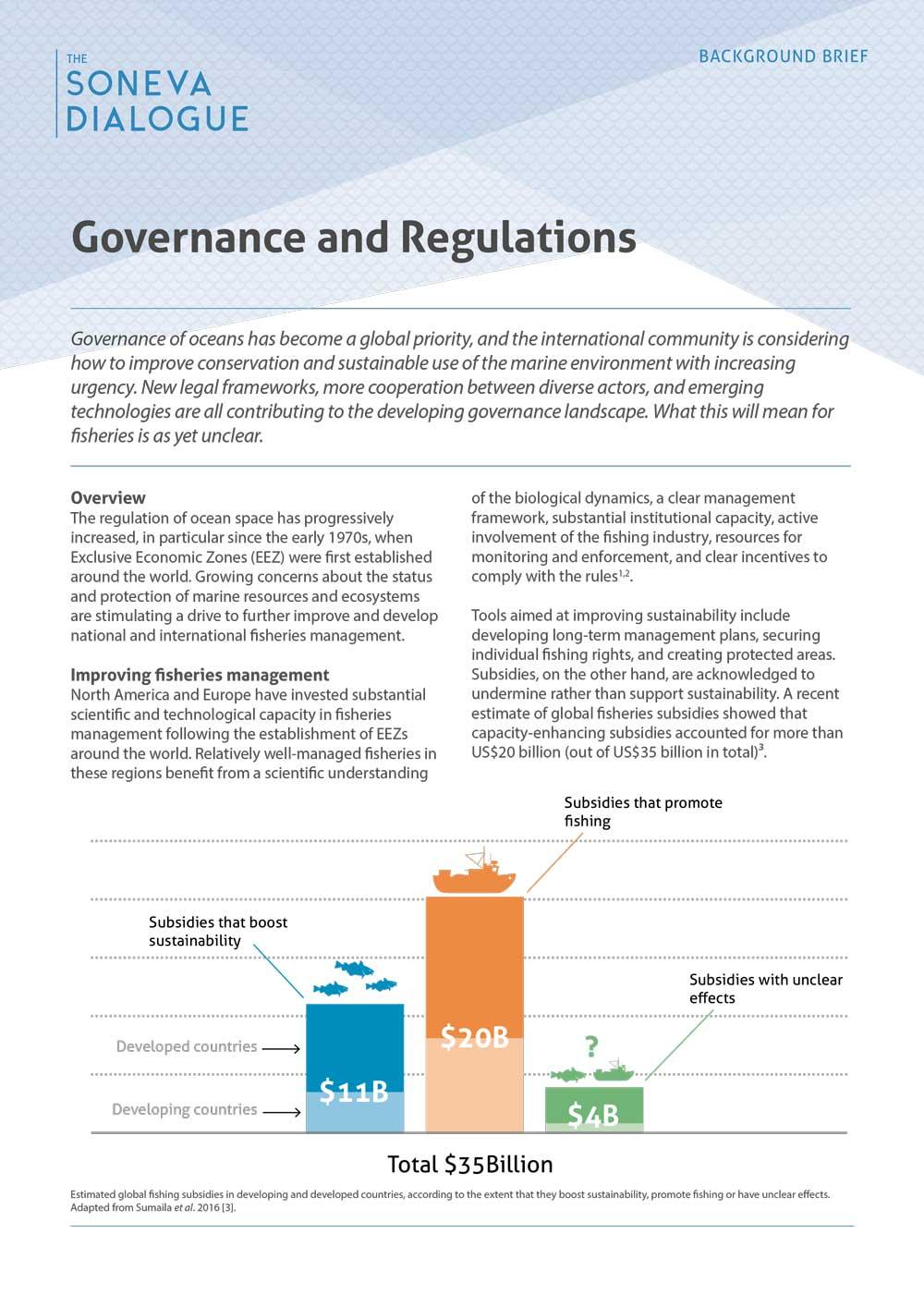 Governance and Regulations